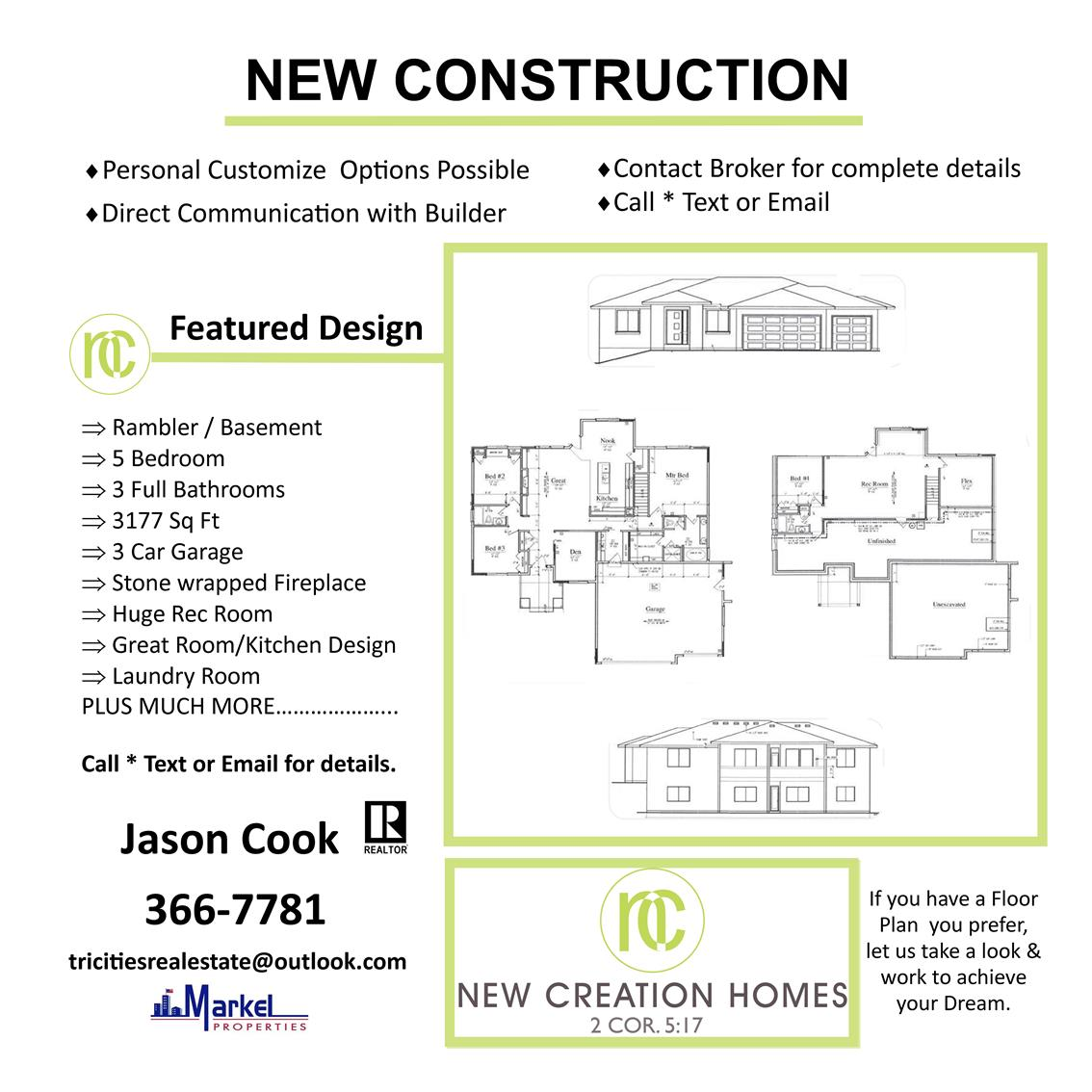 New Creation Homes